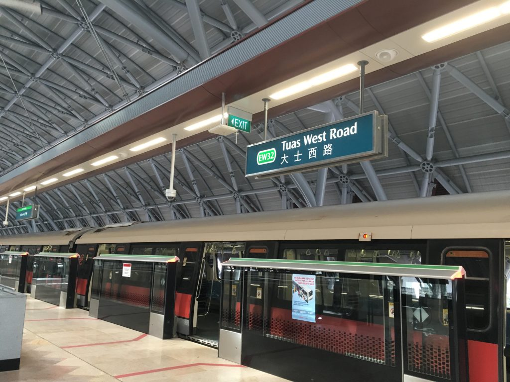 How the Tuas West Extension MRT Have Helped Reduce Travelling Time to Industrial Areas in the West